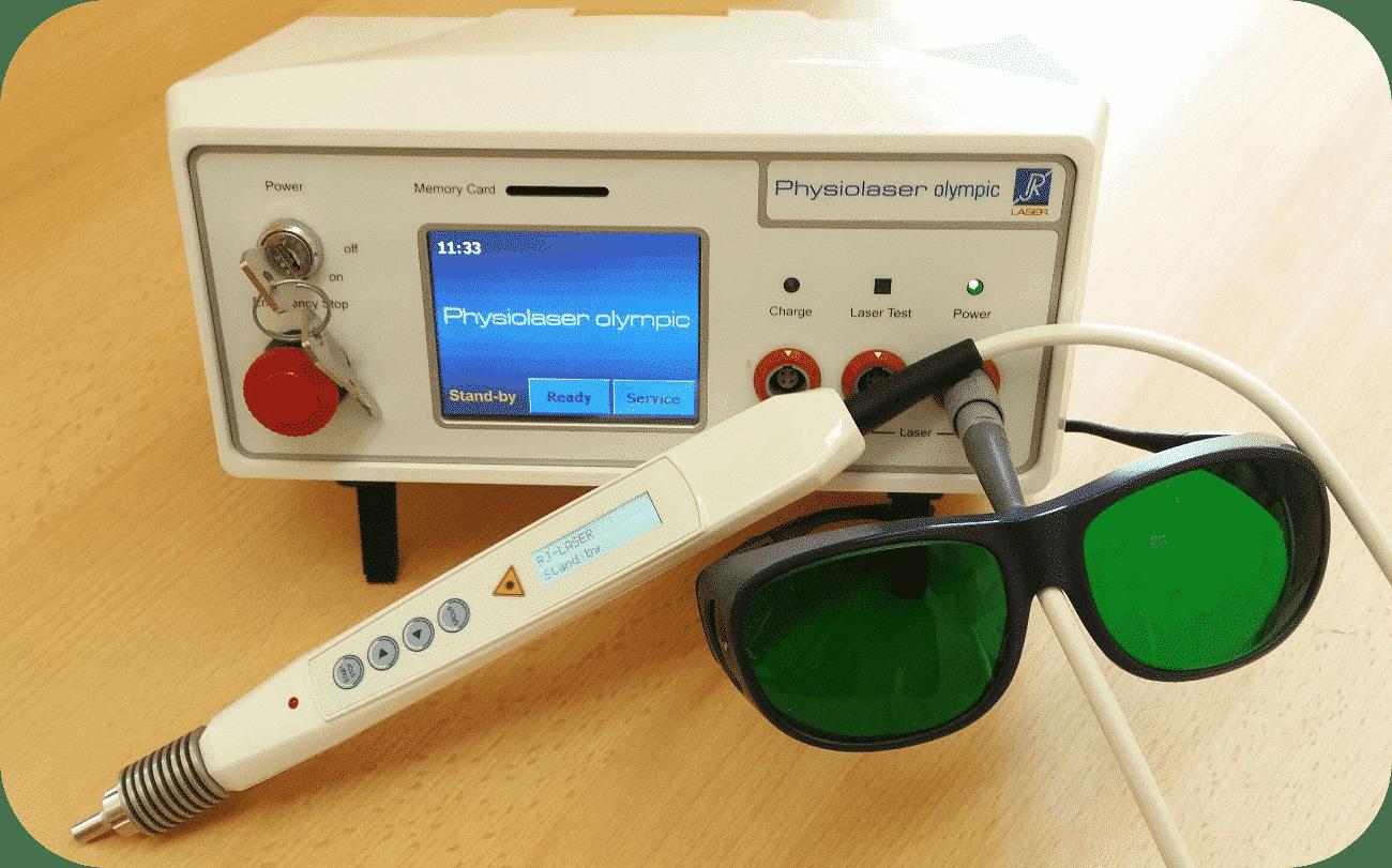 Lasertherapie - Sanft - Schmerzlos - ohne Nebenwirkung